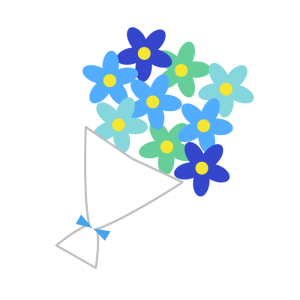 simple_bouquet_blue